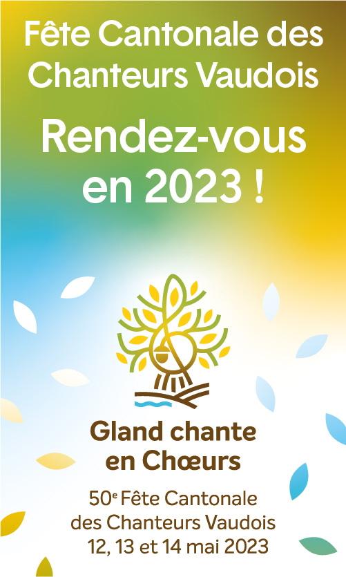 Fête Cantonale des Chanteurs Vaudois 2023